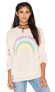 Wildfox Couture Sky High Sweater in Chapstick