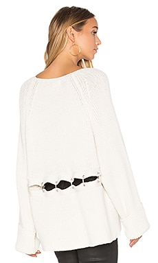 Tavin Grace Sweater en Alabaster