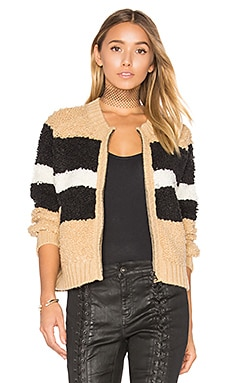 Disco Stripe Margot Sweater en Imprimé