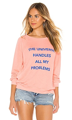 The Universe Sommers Sweatshirt Wildfox Couture $65