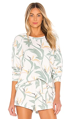 Bird Of Paradise Sommers Sweatshirt Wildfox Couture $128