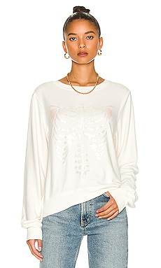 Rib Cage Sweatshirt Wildfox Couture $88