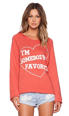 Wildfox Couture I'm Somebody's Favorite Hoodie in India