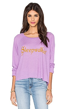Wildfox Couture Sleep Walkin' Sweatshirt in Prince
