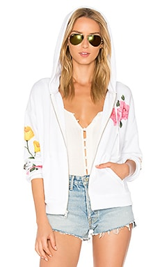 Meadow Flowers Zip Up