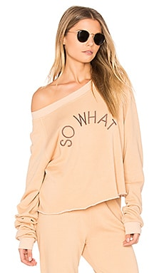 So What Cropped Sweatshirt