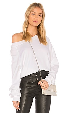 Solid Cropped Sweatshirt