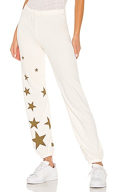 PANTALON SWEAT FALLING STAR Wildfox Couture $118