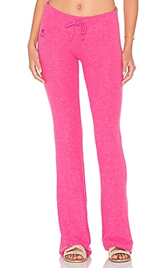 Wildfox Couture Basic Pants in Love Potion Pink