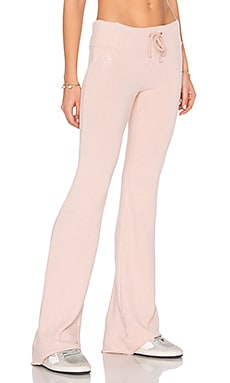 Flare Pant in Rose Smoke