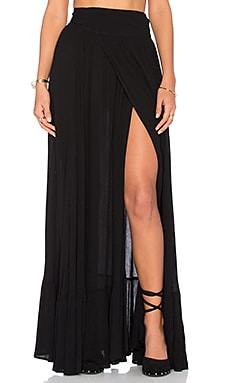Maxi Skirt in Black