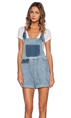 Wildfox Couture Summer Camp Overall in Repaired