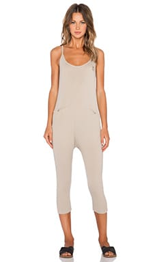 Wildfox Couture Hampton Breeze Onsie in Warm Cement
