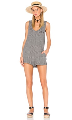 Innocent Romper in Clean Black