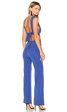 Salty Blonde Jumpsuit in Ultramarine Blue