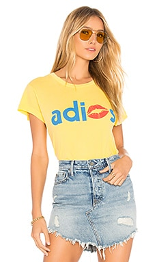 ADIOS NO9 Tシャツ Wildfox Couture $66 新作