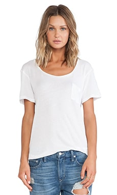 Wildfox Couture Essential Crew in Clean White