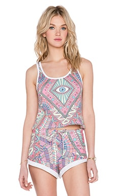 Wildfox Couture Third Eye Fiji Tank in Multi