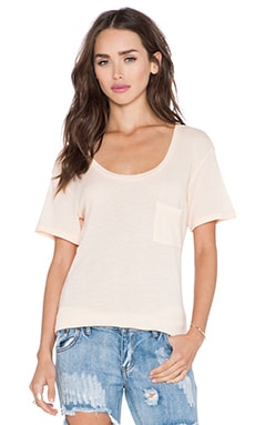 Wildfox Couture Basic Tee in Lox