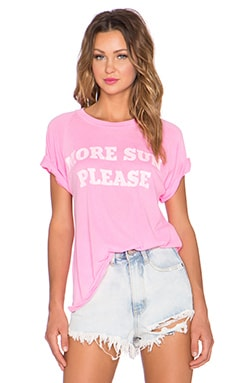 Wildfox Couture More Sun Please Tee in Party Girl