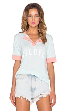 Wildfox Couture Wildfox Sport Tee in Pool Dip