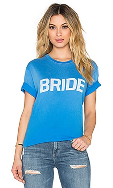 Wildfox Couture Bride Tee in Honeymoon Blue
