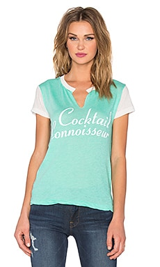 Wildfox Couture Cocktail Connoisseur Tee in Mint Chip