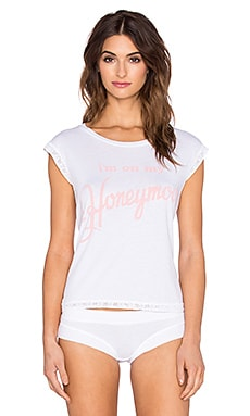 Wildfox Couture Honeymoon Tank in White Wedding