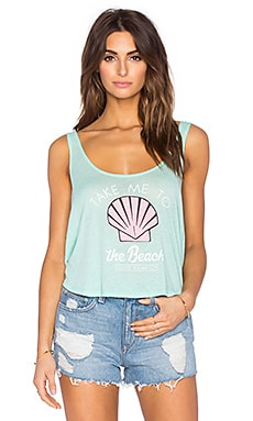 Wildfox Couture Fiji Tank in Mint Chip