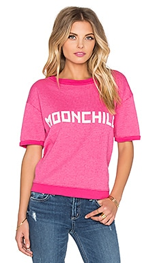Wildfox Couture Moonchild Tee in Mod Magenta
