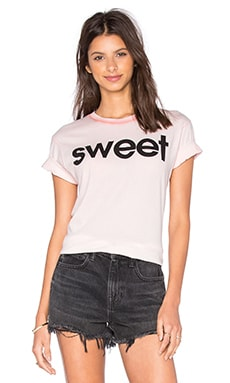 Wildfox Couture Sweet Tee in Grapefruit