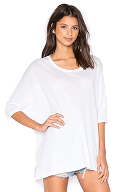 Wildfox Couture Basics Top in Clean White