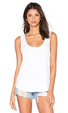 Basics Tank in Clean White
