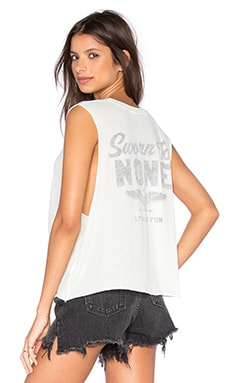 Wildfox Couture Sworn to None Tank in Juniper Mint
