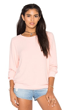 Wildfox Couture Basics Top in Grapefruit