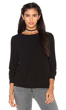 Wildfox Couture Basics Top en Jet Black