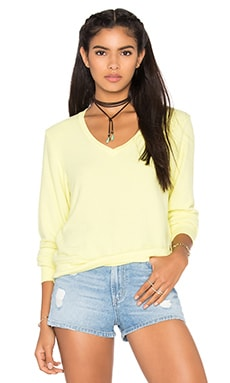 Wildfox Couture Basics Top in Pina Colada