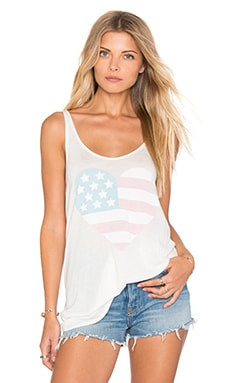 Sun Bleached Heart Top