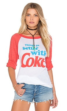 Топ go better with coke - Wildfox Couture