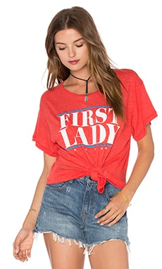 Wildfox Couture First Lady Top en Marinara