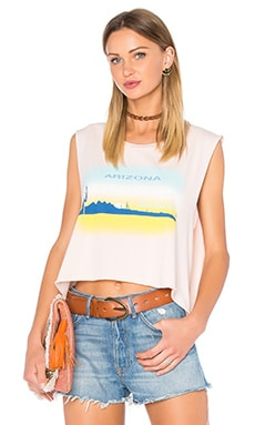 Wildfox Couture Arizona Heat Tank in Arizona Blush