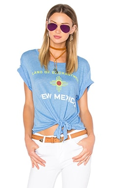 Wildfox Couture Swing State Tee in Azure Blue