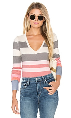 x REVOLVE Kelly Sunset Stripe Bodysuit in Multi