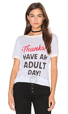 Wildfox Couture Adult Day Top in Clean White
