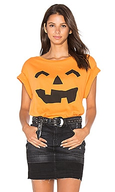 Jack O' Lantern Top in Pumpkin
