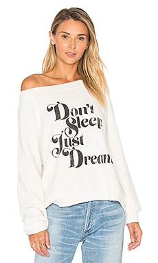 Just Dream Top in Alabaster