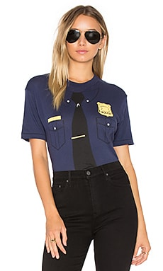 x REVOLVE Cops Bodysuit in Oxford