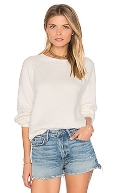 Long Sleeve Top in Alabaster