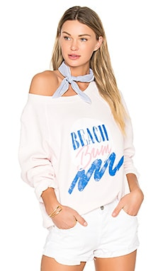 Beach Bum Top en Seashell Pink