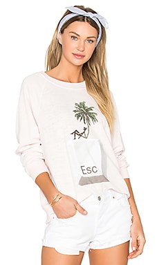x REVOLVE Tropical Escape Sommers Sweater in Seashell Pink